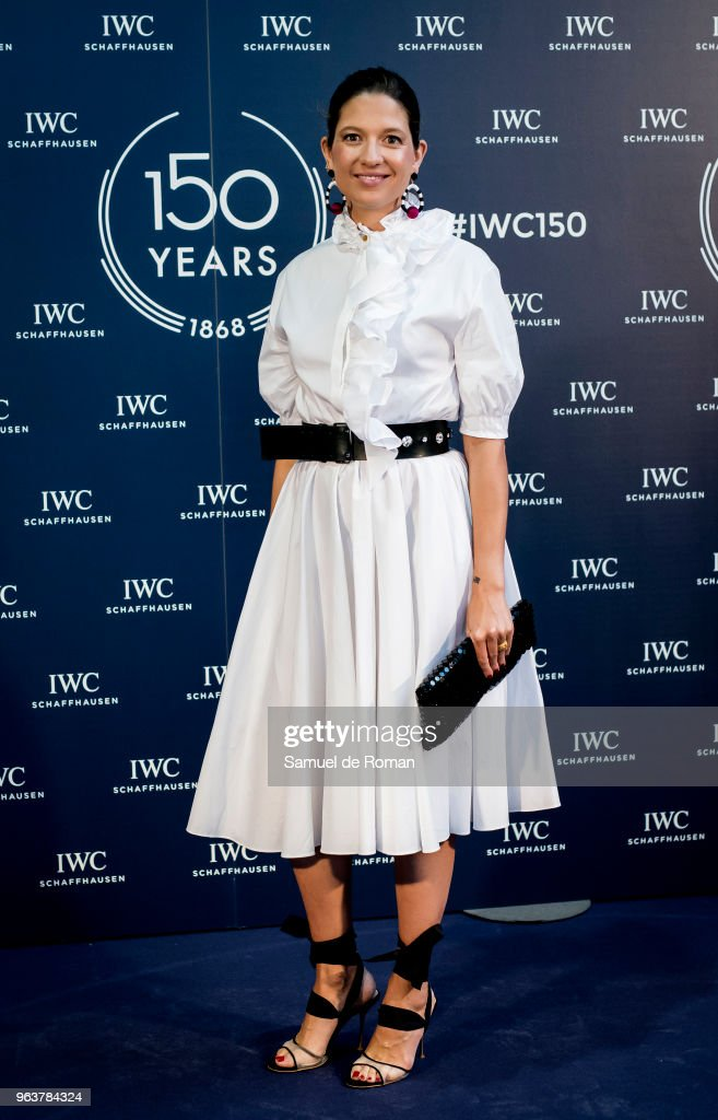 Casilda Finat attends 'IWC - Fuera de Serie' 150 Anniversary Party on May 30, 2018 in Madrid, Spain.
