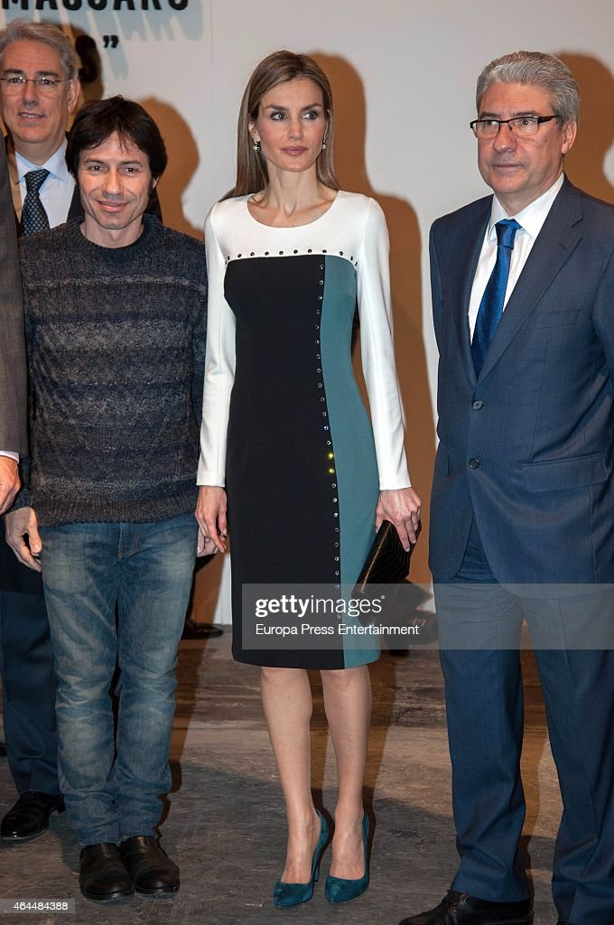 Spanish Royals Attend the Inauguration of ARCO Fair : News Photo