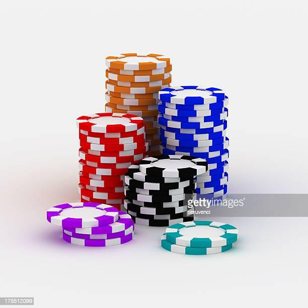 カジノチップ人々