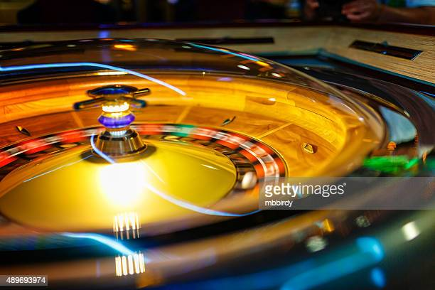 casino electronic roulette wheel - gambling stock pictures, royalty-free photos & images