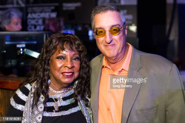 Casino Entertainment Legend Award Recipient singer Martha Reeves and her agent Mark Sonder attend the Global Gaming Expo's seventh annual Casino...