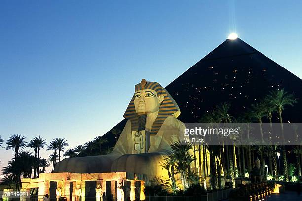 casino, las vegas, nevada - luxor hotel stock pictures, royalty-free photos & images