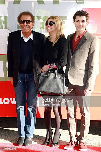 Casino magnate Steve Wynn Andrea HissomWynn and Nick Hissom attend the grand openig of TopShop TopMan Flagship Store at Fashion Show Mall on March 8...