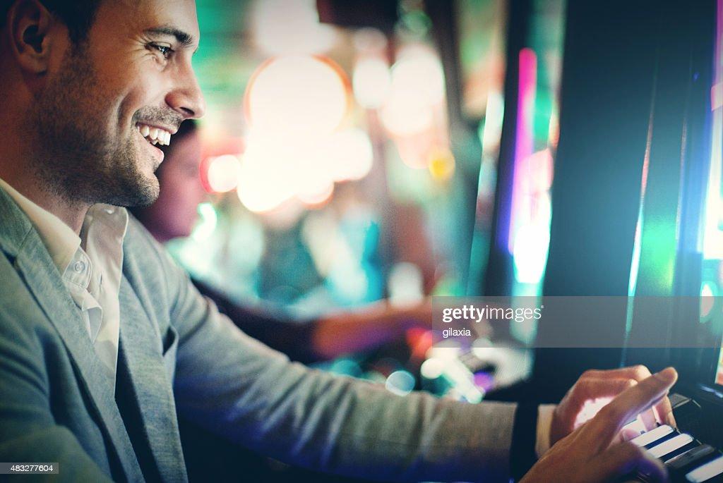 Noite de Casino. : Foto de stock
