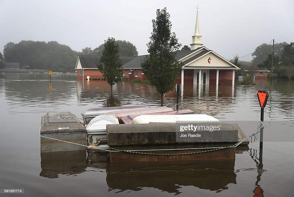 Torrential Rains Bring Historic Floods To Southern Louisiana : News Photo