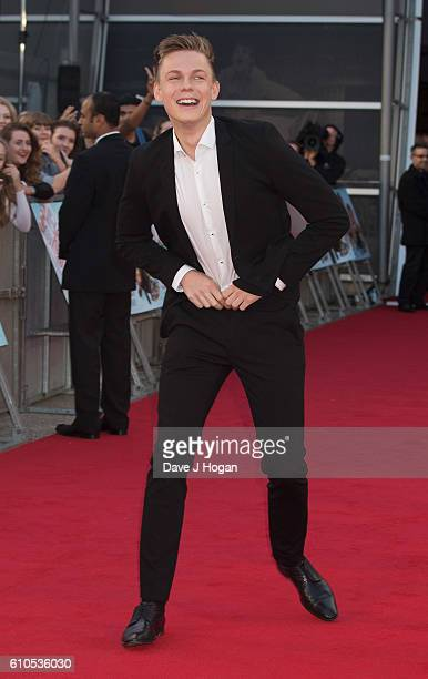 Caspar Lee attends the Laid In America World Premiere at Cineworld 02 Arena on September 26 2016 in London England