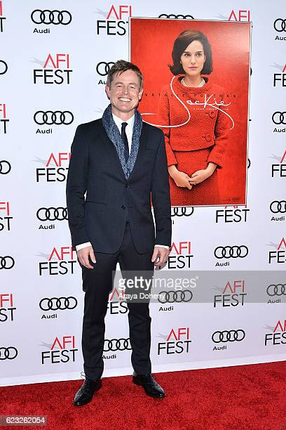 Caspar Phillipson attends the AFI FEST 2016 Presented By Audi Centerpiece Gala Screening Of Fox Searchlight Pictures's Jackie at TCL Chinese Theatre...