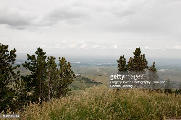 casper from above - casper wyoming stock pictures, royalty-free photos & images