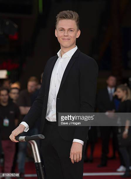 Casper Lee attends the Laid In America World Premiere at Cineworld 02 Arena on September 26 2016 in London England