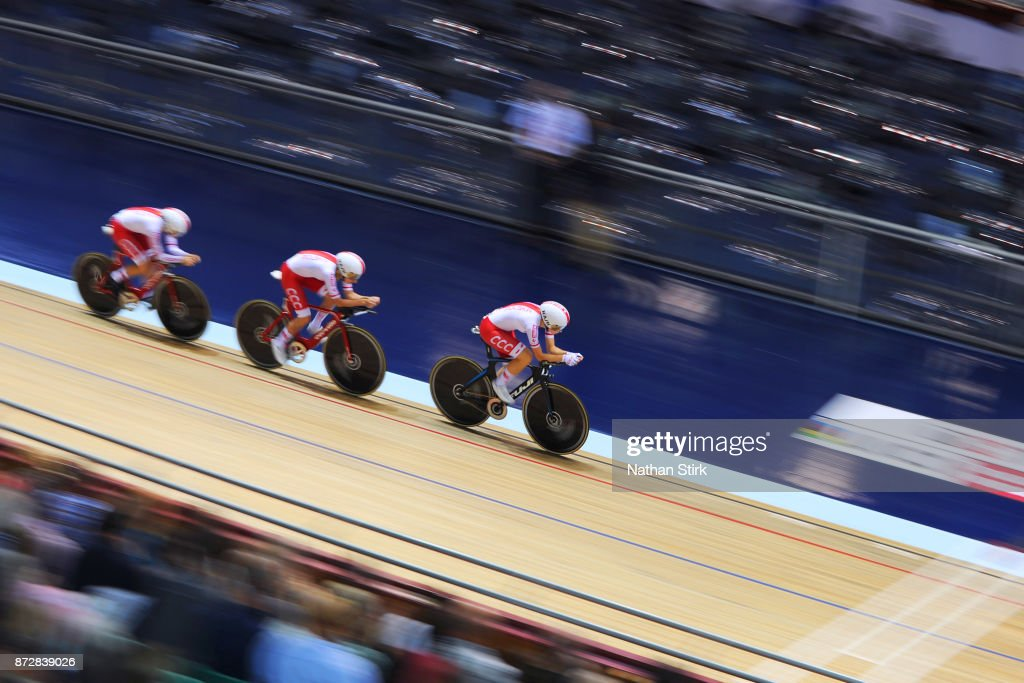 TISSOT UCI Track Cycling World Cup - Day Two