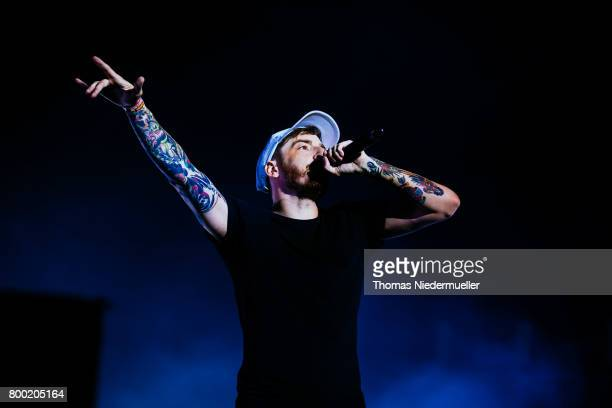Casper performs during the first day of the Southside Festival on June 23 2017 in Neuhausen Germany