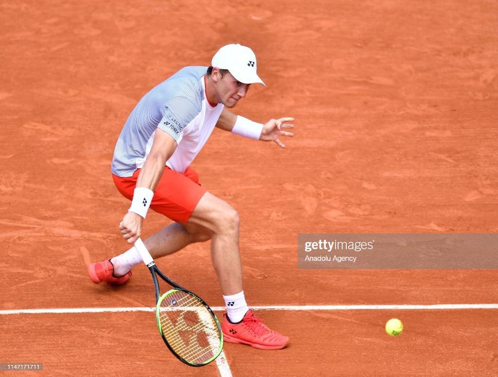French Open 2019 Day 6, Roger Federer vs Casper Ruud : ニュース写真