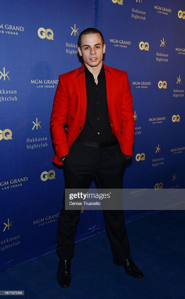 Casper Smart arrives at the grand opening of Hakkasan Nightclub at the MGM Grand on April 27, 2013 in Las Vegas, Nevada.
