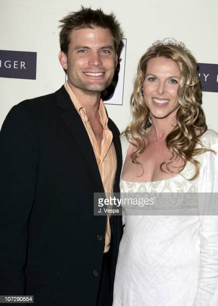 Casper Van Dien and Catherine Oxenberg during 12th Annual Race to Erase MS CoChaired by Tommy Hilfiger and Nancy Davis Red Carpet at The Westin...