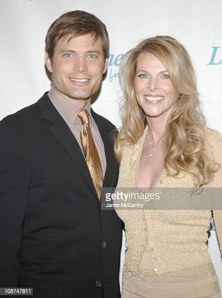 Casper Van Dien and Catherine Oxenberg during 2005/2006 Lifetime Television UpFront at Grand Hyatt Hotel in New York City New York United States