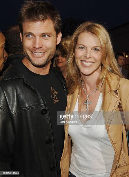 """Casper Van Dien and wife Catherine Oxenberg during """"XXX: State of the Union"""" Los Angeles Premiere - Arrivals at Mann Village Westwood in Westwood,..."""
