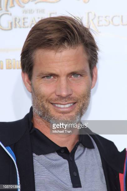 Casper Van Dien arrives to the special screening of Tinker Bell And The Great Fairy Rescue held at La Cienega Park on August 28 2010 in Beverly Hills...