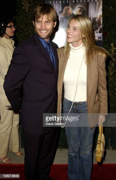 Casper Van Dien Catherine Oxenberg during Evelyn Premiere at The Academy in Los Angeles California United States
