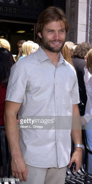 Casper Van Dien during Michael York Honored with a Star on the Hollywood Walk of Fame for His Achievements in Film at Hollywood Boulevard in...