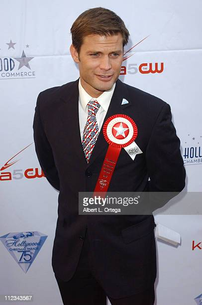 Casper Van Dien during The 75th Annual Hollywood Christmas Parade Arrivals at The Hollywood Roosevelt Hotel in Hollywood CA United States