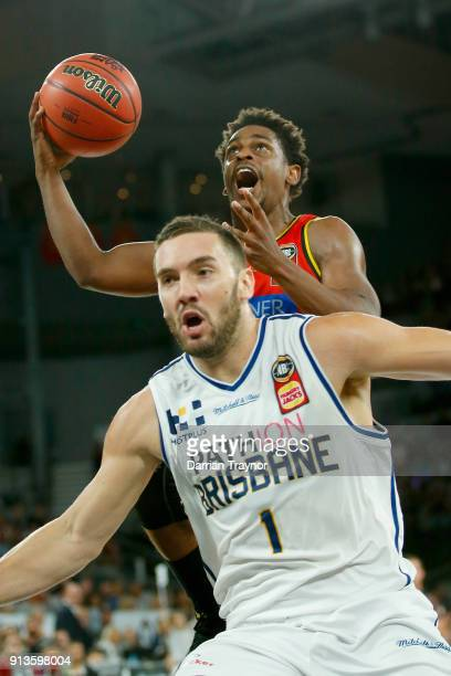 Casper Ware of Melbourne United drives to the basket during the round 17 NBL match between Melbourne United and the Brisbane Bullets at Hisense Arena...