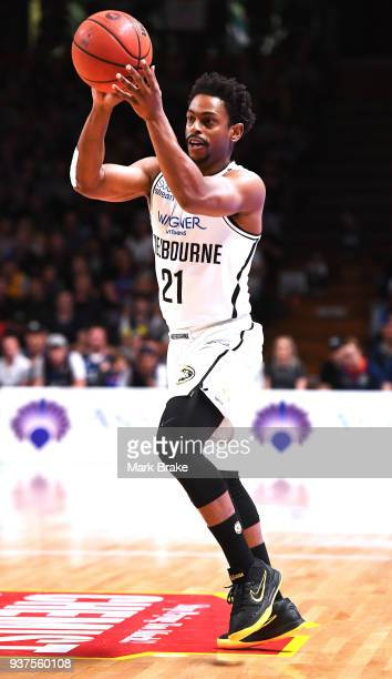 Casper Ware of Melbourne United during game four of the NBL Grand Final series between the Adelaide 36ers and Melbourne United at Priceline Stadium...