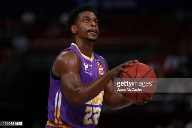 Casper Ware of the Kings shoots from the free throw line during game three of the NBL Semi Final Series between the Sydney Kings and Melbourne United...