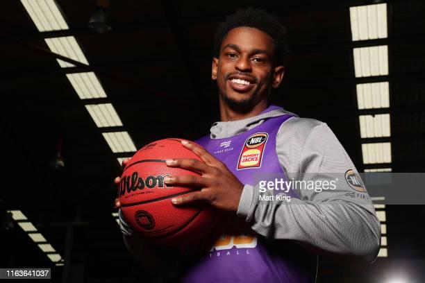 Casper Ware poses during the Sydney Kings pre-season camp at Auburn Basketball Centre on July 23, 2019 in Sydney, Australia.