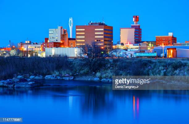 casper, wyoming - casper wyoming stock pictures, royalty-free photos & images