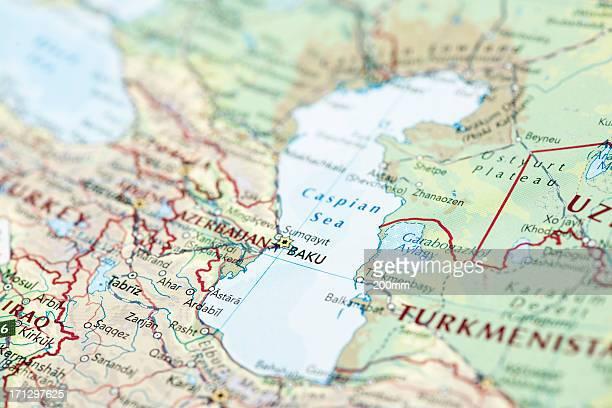 カスピ海 - 中央アジア ストックフォトと画像