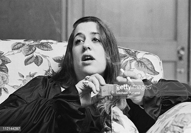 Cass Elliot of The Mamas And The Papas portrait London 1972