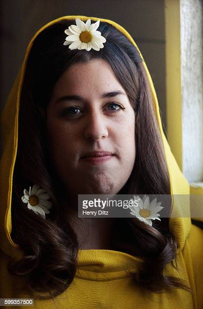 Cass Elliot with Daisies in Her Hair