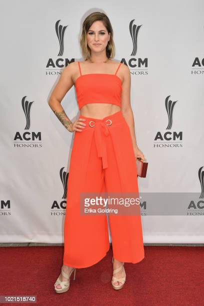 Cassadee Pope attends the 12th Annual ACM Honors at Ryman Auditorium on August 22 2018 in Nashville Tennessee