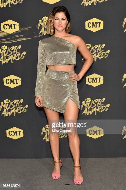 Cassadee Pope attends the 2018 CMT Music Awards at Bridgestone Arena on June 6 2018 in Nashville Tennessee