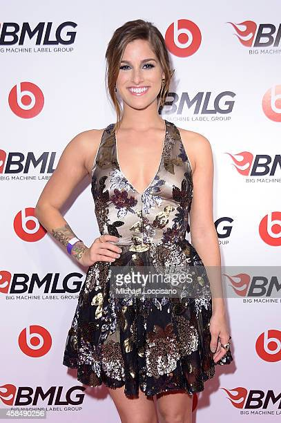 Cassadee Pope attends the Big Machine Label Group Celebrates The 48th Annual CMA Awards in Nashville on November 5 2014 in Nashville Tennessee