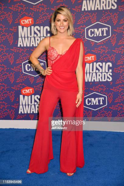Cassadee Popeattends the 2019 CMT Music Awards at Bridgestone Arena on June 05 2019 in Nashville Tennessee