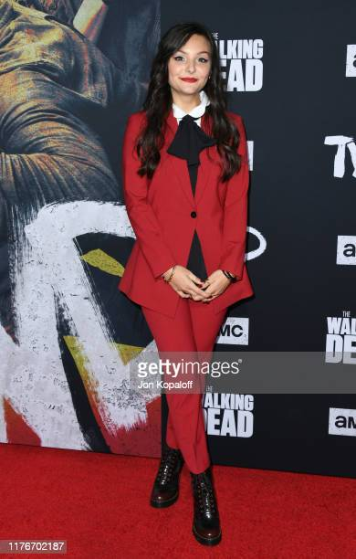 """Cassady McClincy attends the Special Screening Of AMC's """"The Walking Dead"""" Season 10 at Chinese 6 Theater– Hollywood on September 23, 2019 in..."""