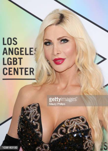 Cassandra Cass arrives at the Los Angeles LGBT Center's 49th Anniversary Gala Vanguard Awards at The Beverly Hilton Hotel on September 22 2018 in...