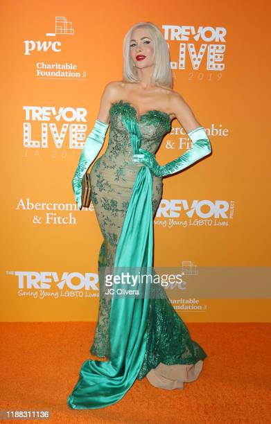 Cassandra Cass attends the 2019 TrevorLive Los Angeles Gala at The Beverly Hilton Hotel on November 17, 2019 in Beverly Hills, California.