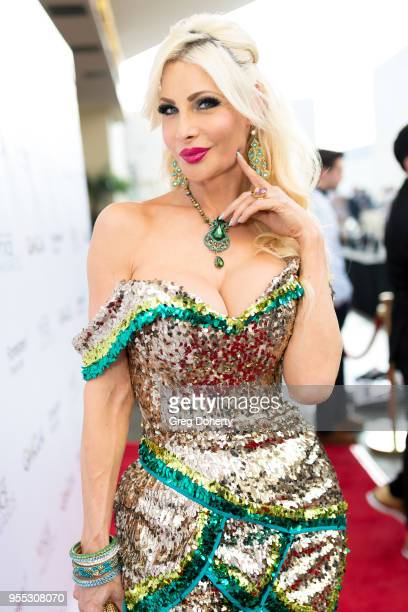 Cassandra Cass attends the Gay Men's Chorus of Los Angeles' 7th Annual Voice Awards at The Ray Dolby Ballroom at Hollywood Highland Center on May 5...