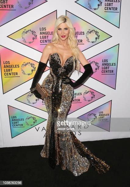Cassandra Cass attends the Los Angeles LGBT Center's 49th Anniversary Gala Vanguard Awards at The Beverly Hilton Hotel on September 22 2018 in...