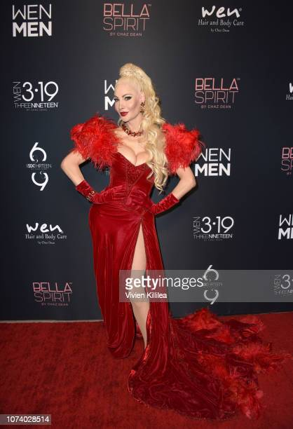 Cassandra Cass attends The WEN By Chaz Dean Winter Party on December 15 2018 in Los Angeles California
