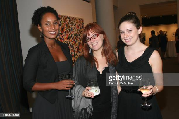 Cassandra Dawes Niki Thomas and Abbey Scheflen attend TWO x TWO for AIDS and Art Preview of Auction Highlights at Sotheby's on September 16 2010 in...