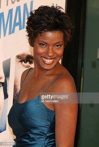 "Cassandra Freeman during The World Premiere of the ""Inside Man"" at Ziegfeld Theatre in New York, New York, United States."