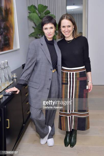 Cassandra Grey and Rachel Webber attend Woman Made on March 5, 2019 in Beverly Hills, California.