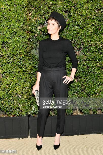 Cassandra Grey at CHANEL Dinner Celebrating Lucia Pica The Travel Diary Makeup Collection on July 12 2017 in Los Angeles California