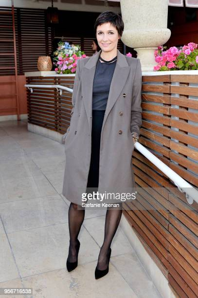 Cassandra Grey attends Aerin Lauder Crystal Lourd and Jennifer Meyer Host a Dinner in Celebration of the AERIN SS18 Collection by Williams Sonoma at...