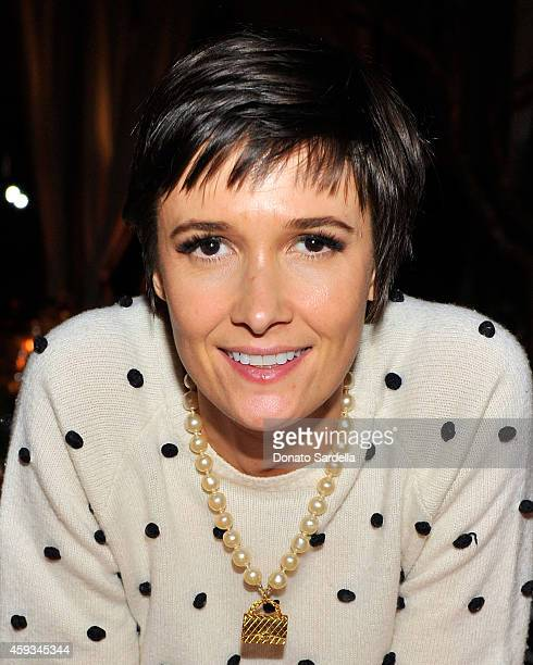 Cassandra Grey attends MAC and Vogue Celebrate Giambattista Valli at Chateau Marmont on November 20 2014 in Los Angeles California