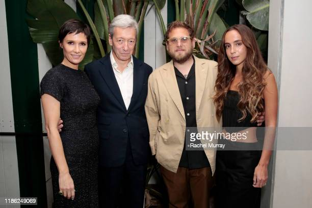 Cassandra Grey Frédéric Malle Jonah Hill and Gianna Santos attend Editions de Parfums Frédéric Malle x Violet Grey celebrate Rose Cuir at San Vicente...