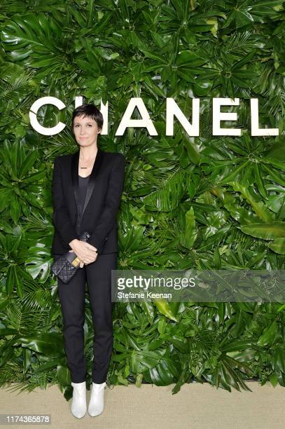 Cassandra Greywearing CHANEL attends Chanel Dinner Celebrating Gabrielle Chanel Essence With Margot Robbie on September 12 2019 in Los Angeles...